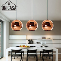 Modern Bar Champagne Glass Shade Antique Pendant Lights Kitchen Island Office Shop Lighting Fixture Vintage Ceiling Lamp