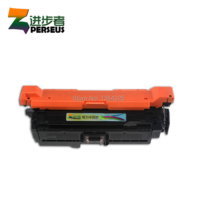 PERSEUS TONER CARTRIDGE FOR HP CE250A CE251A CE252A CE253A FULL FOR HP COLOR LASERJET CP3525 CP3525DN CM3530 PRINTER GRADE A+