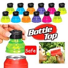 Soda-Saver Sealing-Cover Beverage Pe-Bottle Drink Leak-Proof Can-Cap 6pcs Top-Lid-Protector