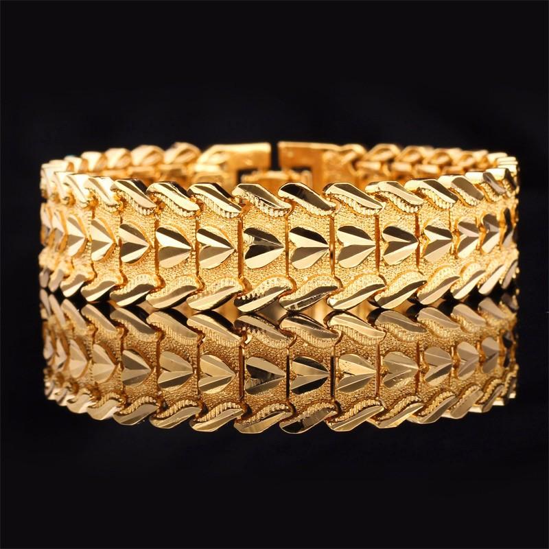 Love Heart Men's Bracelets 20CM