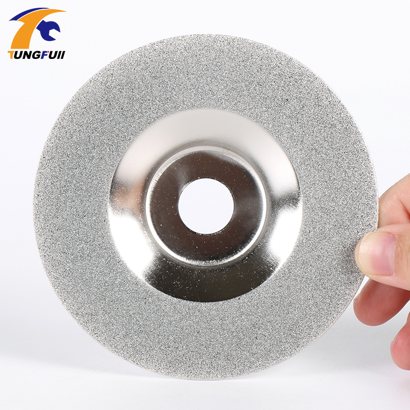 Power Tools Drill Attachment Glass Diamond Grinding Disc 4