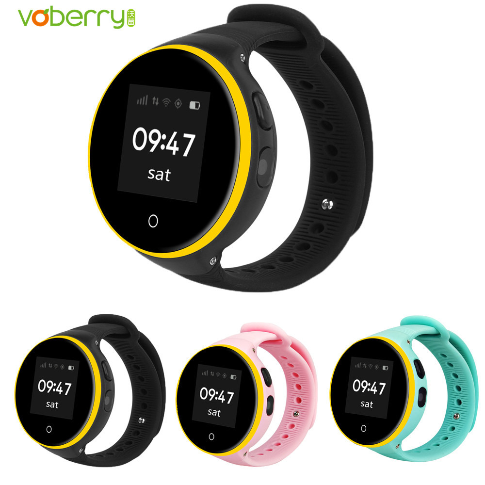 VOBERRY S668A GPS Smart Watch With Wifi Children Smartwatch Answer Call SOS Call Location Watches For Kid Safe Anti-Lost Monitor smart baby watch q60s детские часы с gps голубые