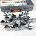 NEW wilkinson WJN-01 3R-3L Guitar Machine Heads Tuners WLS 3+3 Chrome Silver Tuning Pegs ( With packaging )