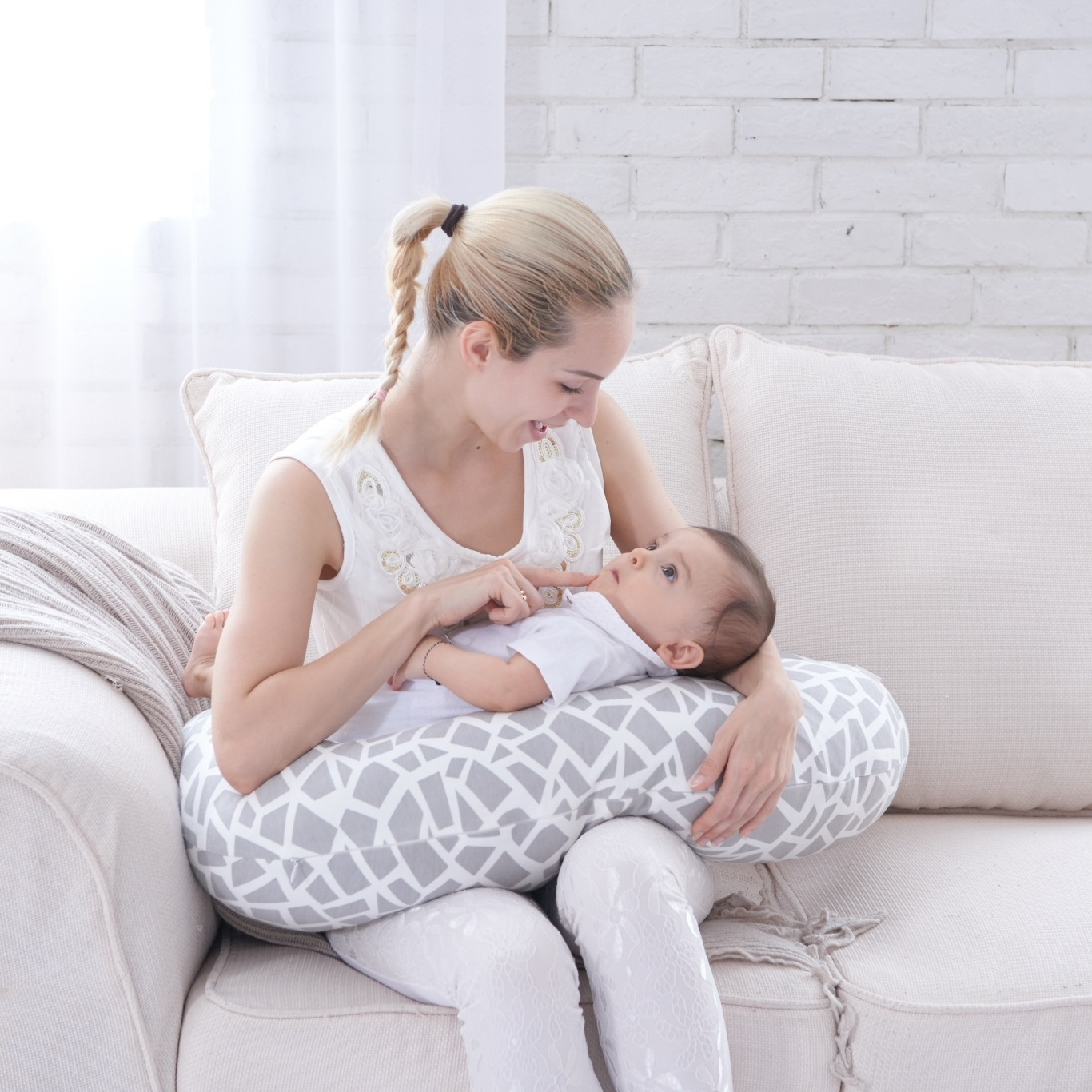 Maternity Pillows Breastfeeding Pillow Feeding Pillow U-shaped Multi-functional Baby Learn Baby Baby Pillow waist support baby nursing breastfeeding pillow soft baby learning sit pillow multi function baby pillows almofada infantil