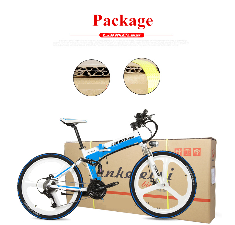 "HTB1TUgversTMeJjy1zeq6AOCVXaN - XT750D 27 Velocity 500W Tremendous Energy Excessive High quality 26"" Foldable Electrical Bicycle, 36V/48V Hidden Lithium Battery Mountain Bike MTB"