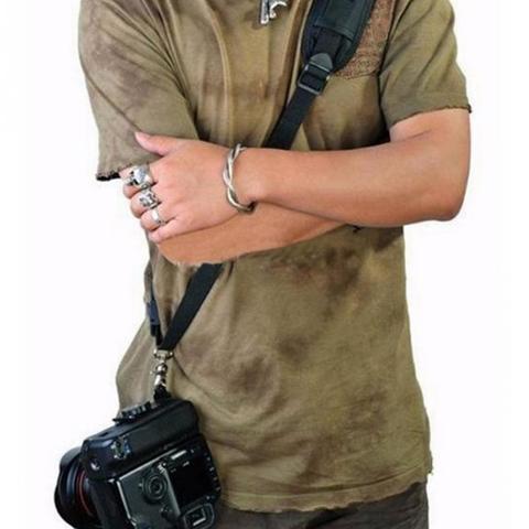 Single Shoulder Sling Belt Strap for DSLR Digital SLR Camera Quick Rapid K Letter fast gunman for Canon Nikon Sony Cameras #0225 Karachi