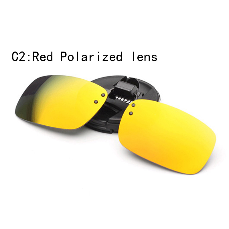 Polarized clip sunglasses sun glasses mirror Men Vinatge clip on sunglasses Clip on Glasses Women Hipster Retro Cool Eyewear