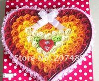 стиральная вырос цветок бумажные лепестки мыло подарок organtic пользу холодопроизводительности цвет 100 шт./компл. бантом