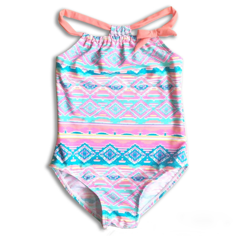 Swimwear Summer Baby Girls Sling One-piece Quick-drying Swimwear Cute Swan Backless Swim Beach Bathing Kids Toddler Children Swimsuit