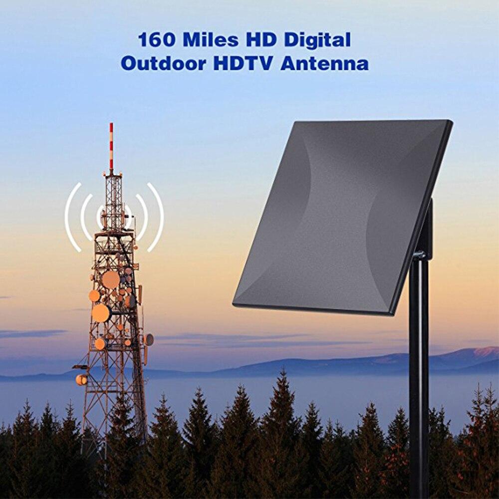 Hdtv Antena 160miles Indoor Outdoor Digital Amplified Tv