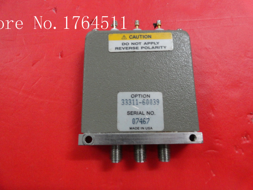 [BELLA] Supply SPDT RF - Original 33311-60039 DC-4GHZ 24V