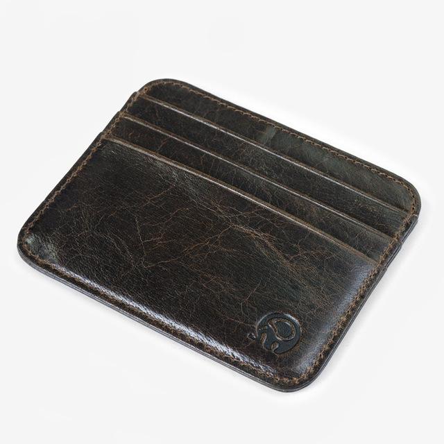 Men Business ID Credit Card Holder