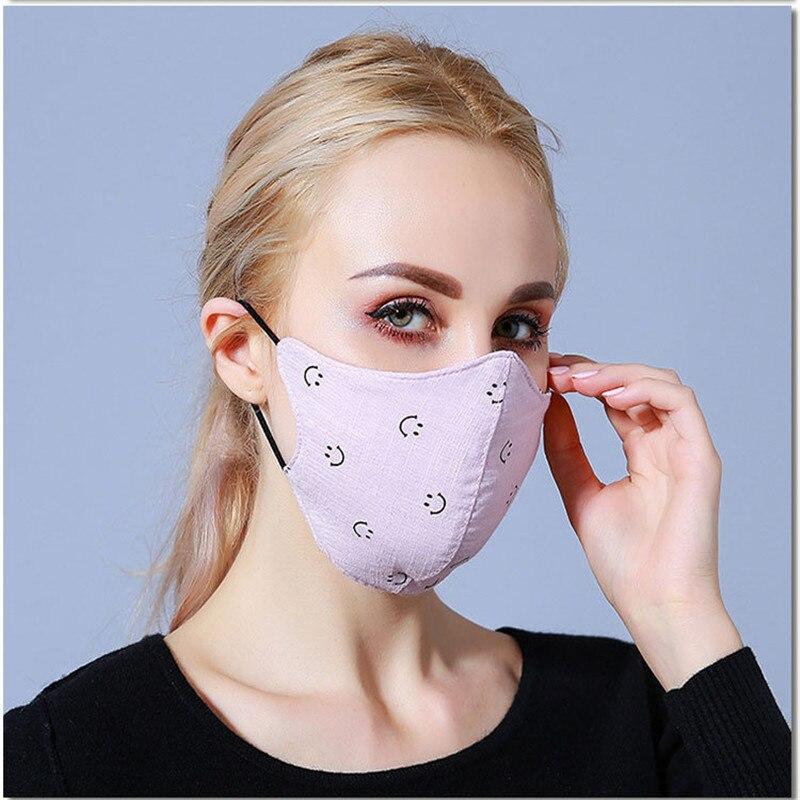 Masken 10 Teile/beutel Winter Persönlichkeit Mode Koreanische Version Der Anti-dunst Masken Dame Warm Dreidimensionale Baumwolle Leicht Zu Atmen GläNzend