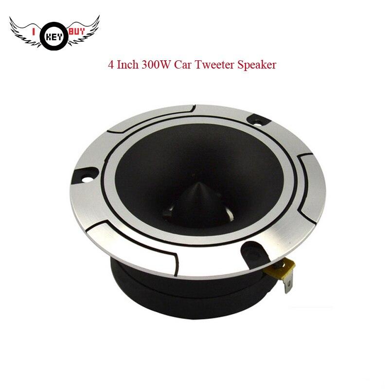 Haut-parleur à haut pas 4 pouces 300 W 1 PC 4Ohm haut-parleur de Tweeter de voiture haut-parleur de voiture Automobile de haute qualité