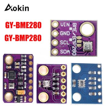 GY-BME280 BMP280 BME280 Digital Barometric Pressure/Altitude Sensor High Precision Atmospheric Module for Arduino Diy kit mps20n0040d d sphygmomanometer pressure sensor 0 40kpa dip 6 for arduino raspb
