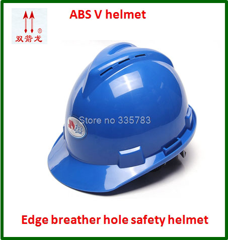 high quality safety helmet ABS  V type Breathable casco de seguridad Anti-smashing light practical safety helmets high quality safety helmet abs y china national standard casco de seguridad anti smashing multifunction hard hat