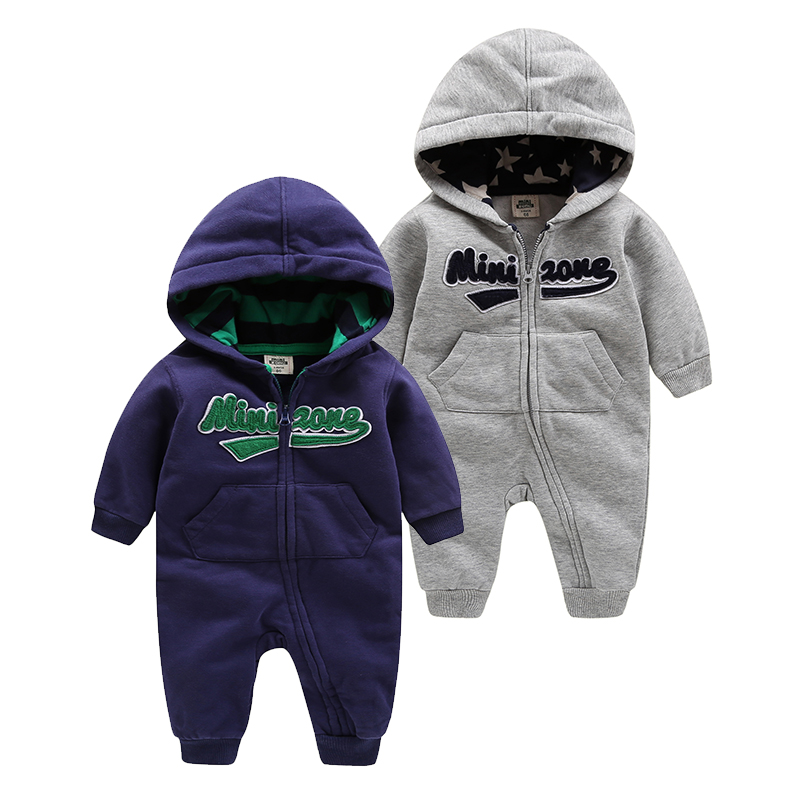 2018 fashion baby boy clothing hoodies for boys clothes 1st birthday outfits baby rompers ,Orangemom Hooded Long Sleeve Jumpsuit