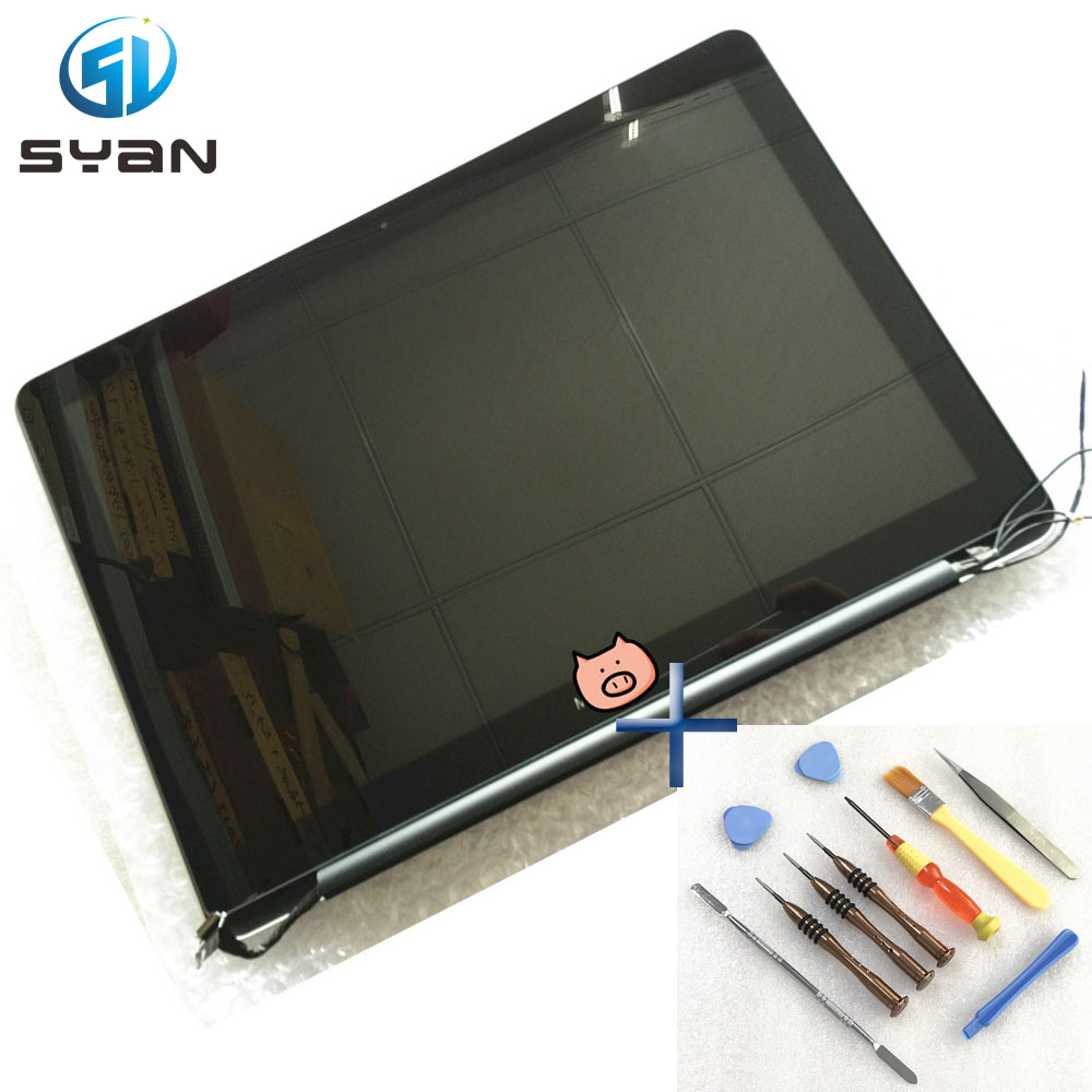 A1278 LCD screen assembly for Macbook Pro 13 3 full LCD LED Display screen assembly 2012