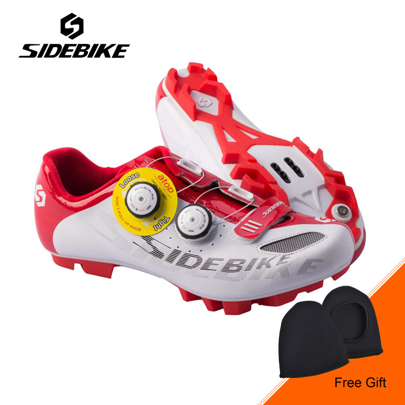 Sidebike New Men Professional MTB Bike Shoes Self-locking Cycling Shoes Outdoor Mountain Bicycle Shoes Zapatillas Ciclismo outdoor eyewear glasses bicycle cycling sunglasses mtb mountain bike ciclismo oculos de sol for men women 5 lenses