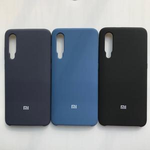 Image 3 - Für Xiaomi 9/Redmi Hinweis 7 Pro fall luxus flüssigkeit silikon schutzhülle super bequem telefon shell