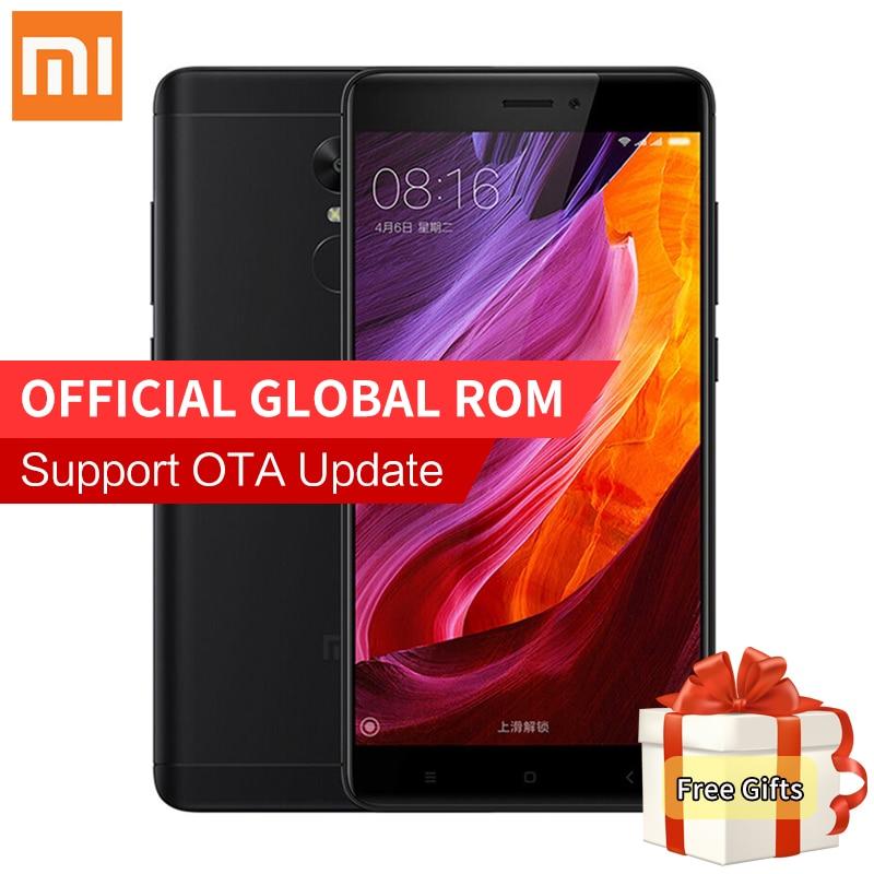 "Original Xiaomi Redmi Note 4X 4GB 64GB Pro Prime Mobile Phone MTK Helio X20 Deca Core 5.5"" FHD 13MP Camera Fingerprint MIUI 8.1"