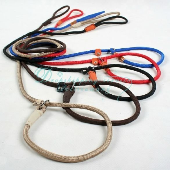 Drop Shipping/Free Shipping L of dog chain pet dog rope traction rope chain dog collar-one leash
