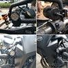 Plug amp play 60W Motorcycle Headlight spotlight 9600lm set 6000k auxiliary LED lights Fog light CNC machined Aluminium Housing review