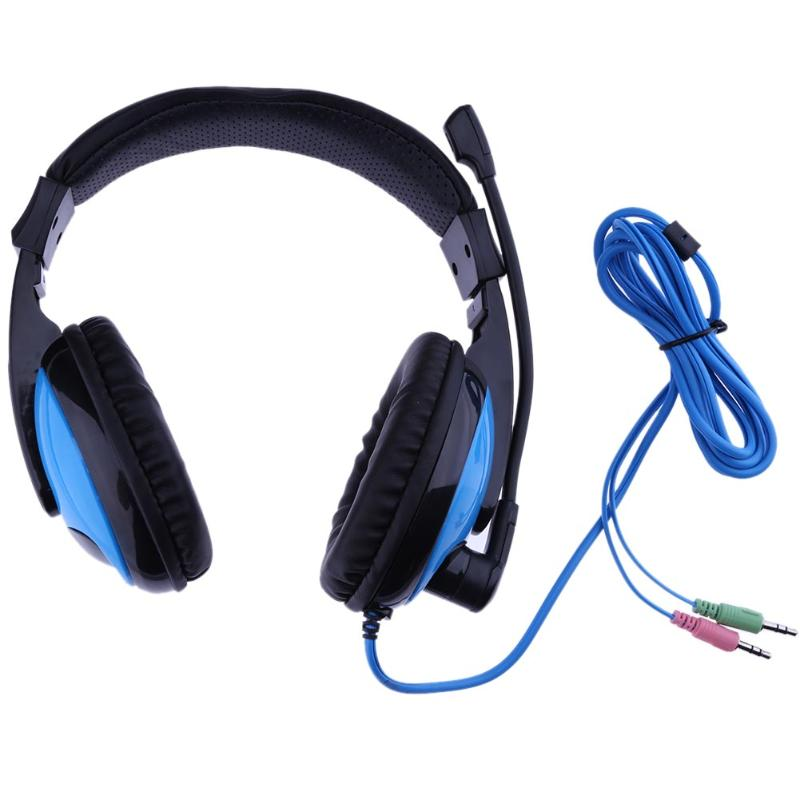 Professional 3.5mm Wired Gaming Headphone with Microphone for PC Laptop