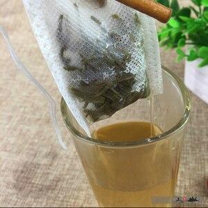 Image 3 - Чайные пакетики 500 шт 7x9 см пустые чайные пакетики с струнным фильтром для заваривания, деформация для свободного кофейного чая, одноразовые бумажные пакеты