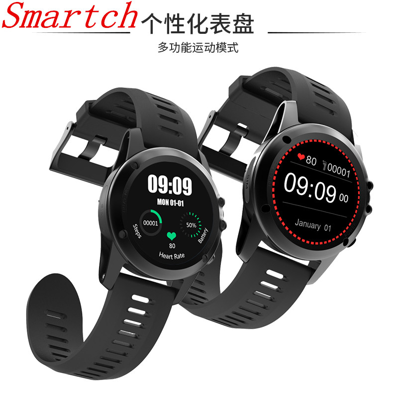 Smartch New H1 Smart Watch IP68 Waterproof MTK6572 4GB+152MB 3G GPS Wifi 400*400 Heart Rate Tracker For Android IOS Camera 500W bluetooth mtk6572 android watch sim card camera wifi 3g gps smart watch waterproof heart rate fitness tracker for ios android