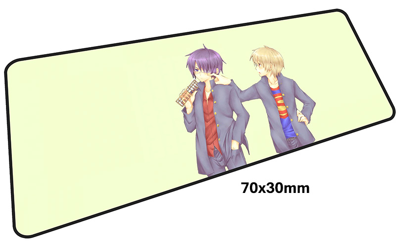 GINTAMA mousepad gamer 700x300X3MM gaming mouse pad large cute notebook pc accessories laptop padmouse ergonomic mat