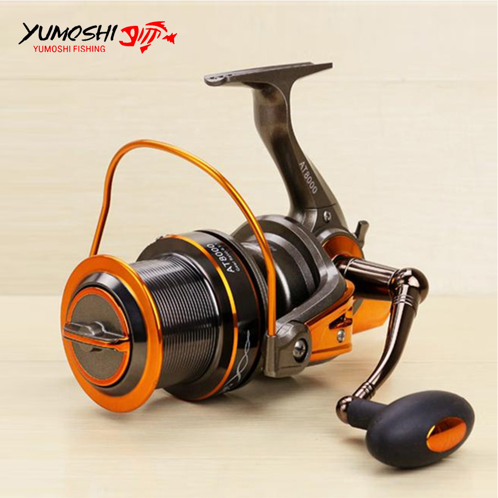 8000/9000 size surf spinning big sea fishing reel full metal spool Jigging trolling long shot casting for carp and salt water 3000l rear drag spinning carp bait casting trolling boat sea fishing reel