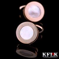 Kflk sıcak düğün hediye kol düğmeleri kabukları kol tırnak erkek gömlek kol düğmeleri moda kol düğmeleri 2017 yeni ürünler ücretsiz kargo