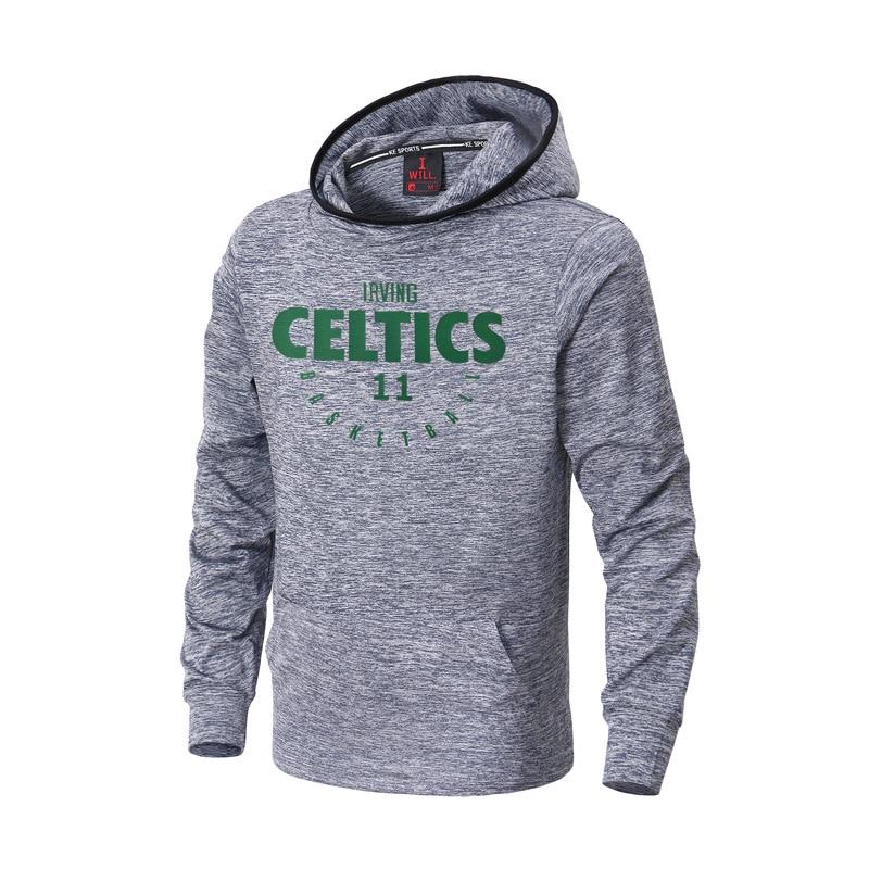 James/Irving/Harden Basketball Sports Hoodies Men's training hooded Sweatshirt loose long-sleeved sports Jersey