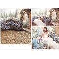 300*200cm White Wall Bright Windows Wedding Photography Background Flowers Vinyl Backdrops for Photography Custom Studio