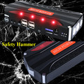 High Power Portable 12V Car Jump Starter New Upgrade 600A Peak Car Battery Charger Mini 4USB 2.0A Power Bank SOS Light Free Ship