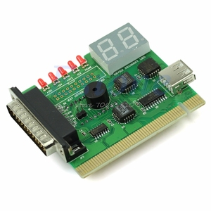 Image 2 - 1PC USB PCI PC Notebook Laptop Analyzer Motherboard Diagnostic POST Card Drop Shipping