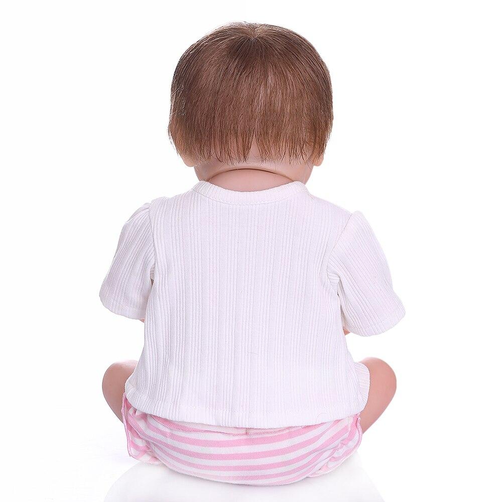 NPK 48 سنتيمتر بيبي واقعية تولد من جديد لينة كامل الجسم slicone نابض بالحياة النوم الطفل اليد مفصلة اللوحة تشريحيا الصحيح-في الدمى من الألعاب والهوايات على  مجموعة 3