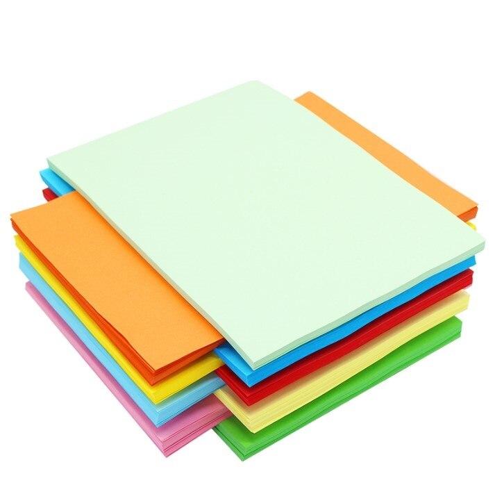 Free shipping a4 paper printer tracing copy paper 10 Color 50pcs/lot a4 paper 80gsm Children Handwork DIY Card Scrapbook drop 3