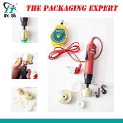 Electrical Capping Machine Plastic Bottle Screwing Manual Cover Capper 10-50mm Portable Semi Automatic Screw Tip Free Shipping