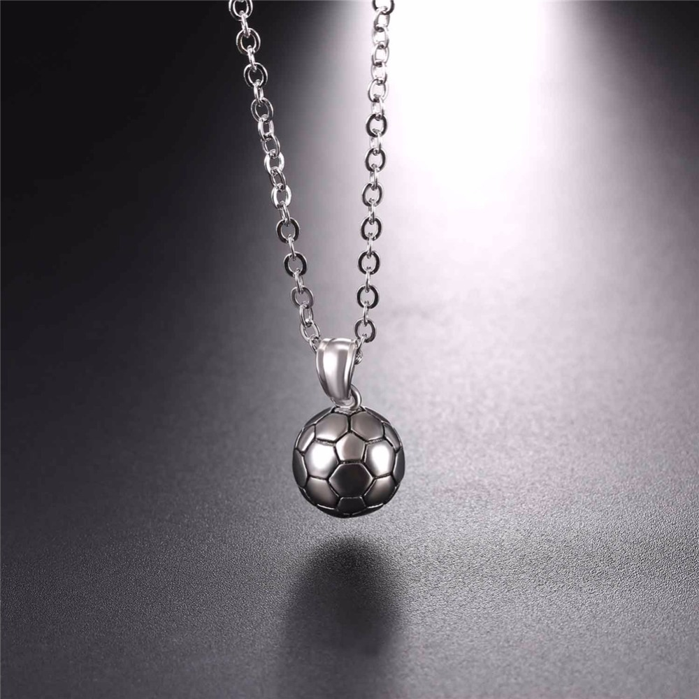 Starlord footballsoccer pendants necklace ball enamel jewelry starlord footballsoccer pendants necklace ball enamel jewelry sports fashion gold color stainless steel chain men bijoux gp2557 in pendant necklaces from mozeypictures Image collections