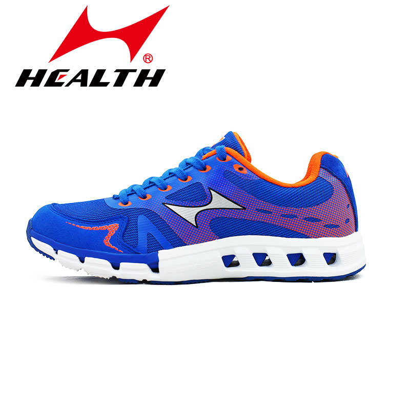 ФОТО Health Outdoor sports mens running shoes gym breathable light slip-resistant athletic woman male sport shoes female plus size