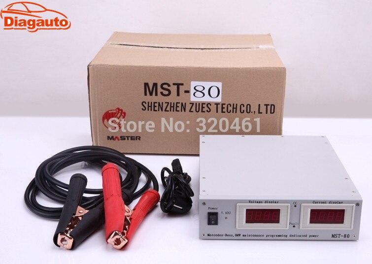 Цена за Diagauto большая акция MST-80 + Авто Напряжение стабилизатор Питание для BMW ЭБУ кодирования MST-80 +