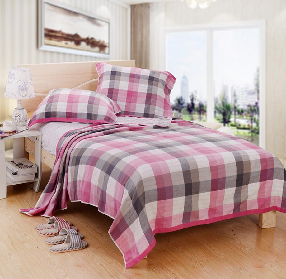 towel blanket picture  more detailed picture about cotton summer  -  cotton summer autumn towel blanket on the bed ecofriendly beddingplaid sofa quilt office