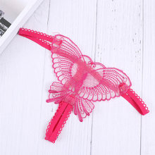 Fashion Hollow out butterfly Embroidery G-Strings Intimates Briefs Sexy Lady Underwear G String Sexy Women Thongs T Back