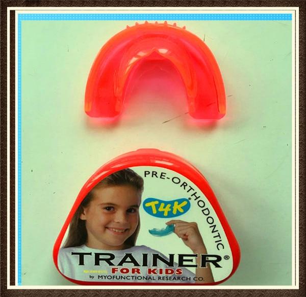 Original MRC Dental T4K Orthodontic Teeth Trainer Appliance Orthodontic Teeth Trainer For Kids phase II 1 pc dental orthodontic study model transparent teeth malocclusion orthodontic model with colorful brackets