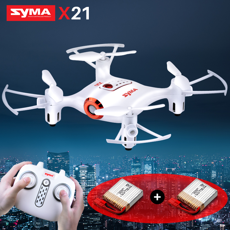 SYMA Offcial X21 Drone RC Helicopter RC Quadcopter Mini Dron Quadrocopter without Camera Remote Roy for Children Gifted Battery Квадрокоптер