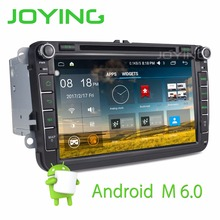 Joying Android 6.0 Marshllow Quad Core Car Head Unit 8″ GPS Navigation For Volkswagen Seat Skoda unit support Rear Camera