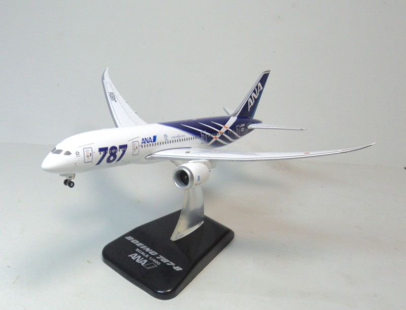 1:400 ANA 787-8 Hogan ja801a aircraft model aircraft flying dream ana.