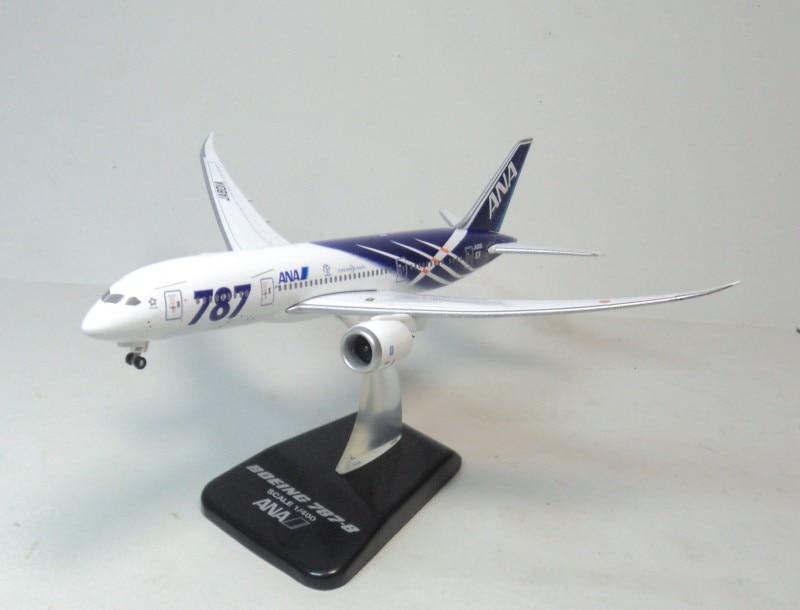 цена  1:400 ANA 787-8 Hogan ja801a aircraft model aircraft flying dream ana.  онлайн в 2017 году